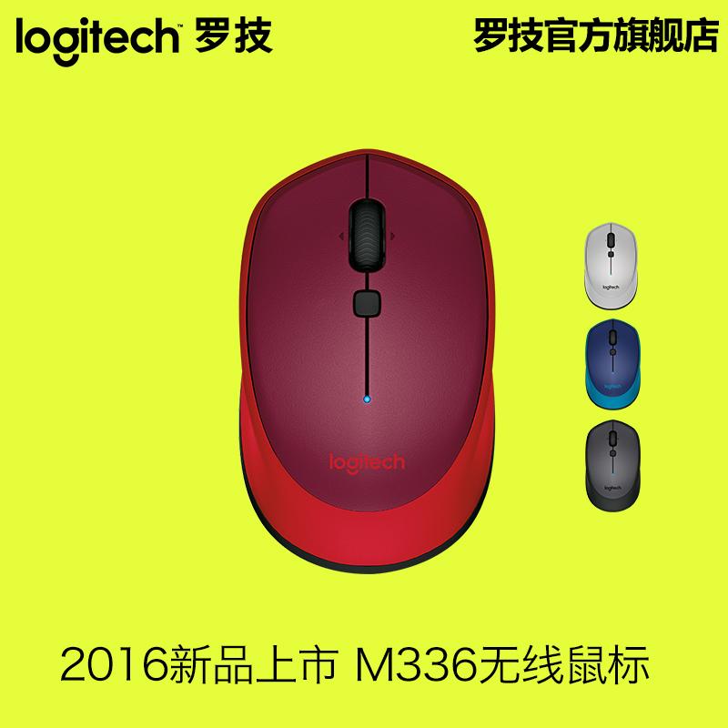 新品 羅技M336藍牙無線滑鼠 商務辦公電腦筆記本WIN7/8 MAC
