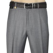 中老年羊毛宽松西装 中年西裤 高腰亚麻夏季薄款 男士 啄木鸟男装