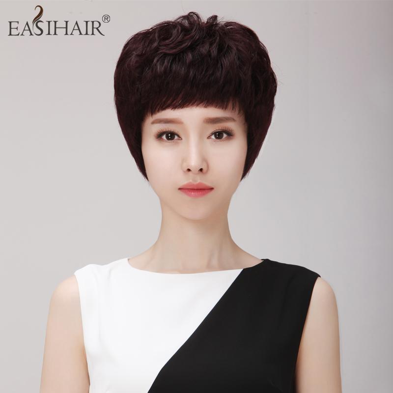 假发[短发假发烫发]淘宝网正品假发v假发短发短头发适合什么样的耳饰图片