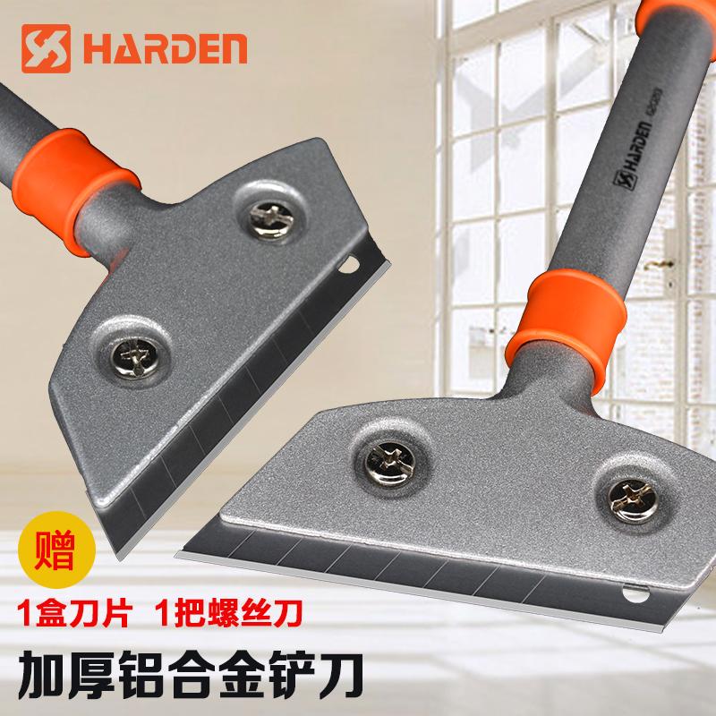 汉顿胶铲子铝合金铲刀铲墙皮清洁刀保洁刮刀玻璃油灰刀不锈钢工具