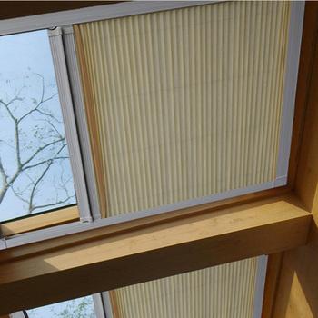 上海蜂巢帘天窗阳光房遮阳顶帘隔