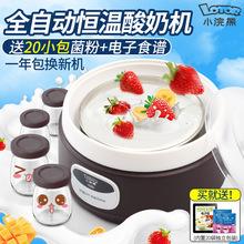小浣熊HM305A酸奶机家用全自动多功能不锈钢内胆迷你自制发酵机