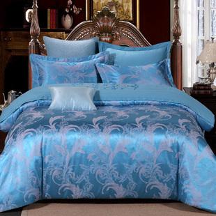 家纺床上四件套1.5/1.8/2.0m床天丝被套婚庆床品全棉纯棉床单双人