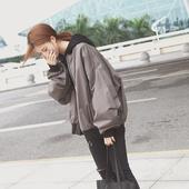 韩国东大门棒球服女装原宿休闲外套飞行员夹克棒球衫韩版学生bf风