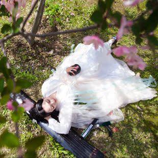 白浅古装儿童古装女三生三世十里桃花同款衣服女童汉服古代仙女