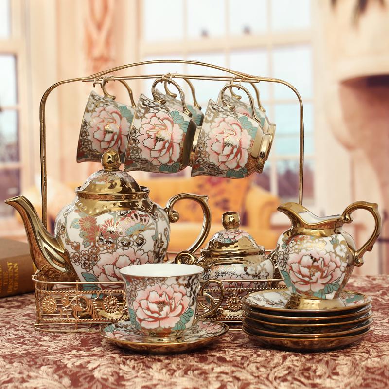 欧式陶瓷摆件家居客厅电视柜酒柜摆设装饰品创意美式