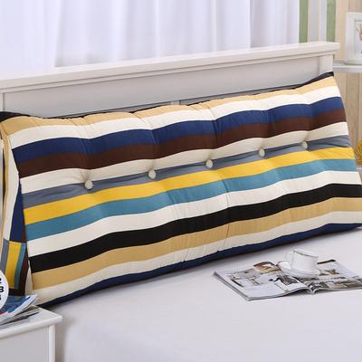 床头榻榻米软包三角大靠背床上沙发长靠枕可拆洗双人靠垫护腰垫子