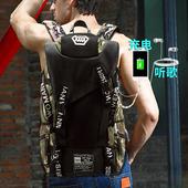 背包男旅行行李袋韩版书包电脑包潮流大容量休闲户外双肩包旅游包