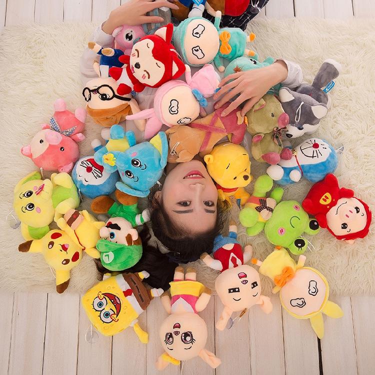 元七寸小公仔礼物儿童毛绒玩具玛丽玩偶精品店娃娃超级