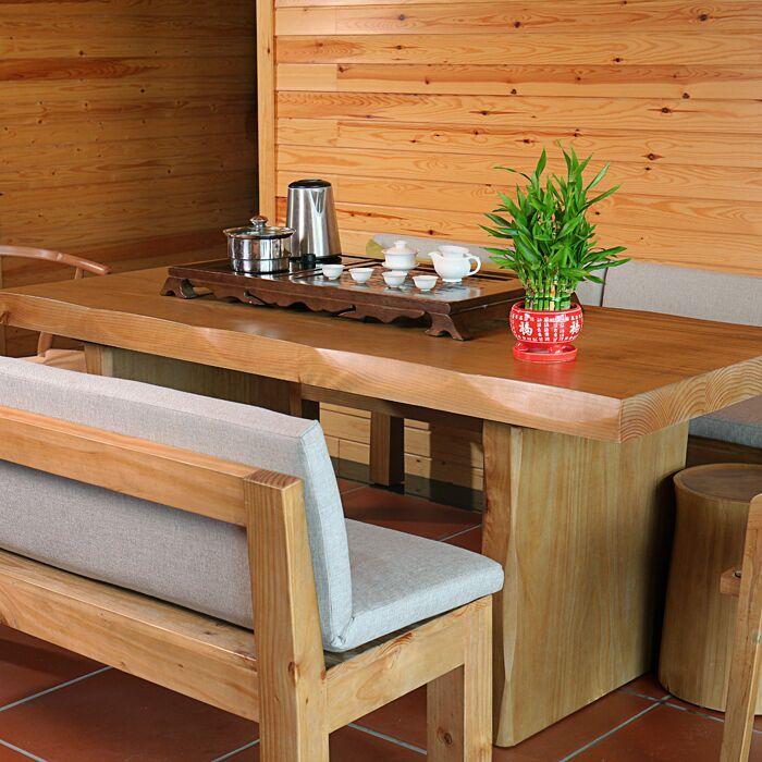 简约全实木茶桌椅组合功夫泡茶台喝茶桌客厅茶几酒吧