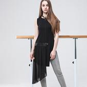 独立设计师原创品牌个性女装潮T恤雪纺衫上衣短无袖17年夏新款
