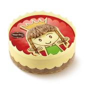 哈根达斯 蛋糕冰淇淋 小公主600克 二维码专拍