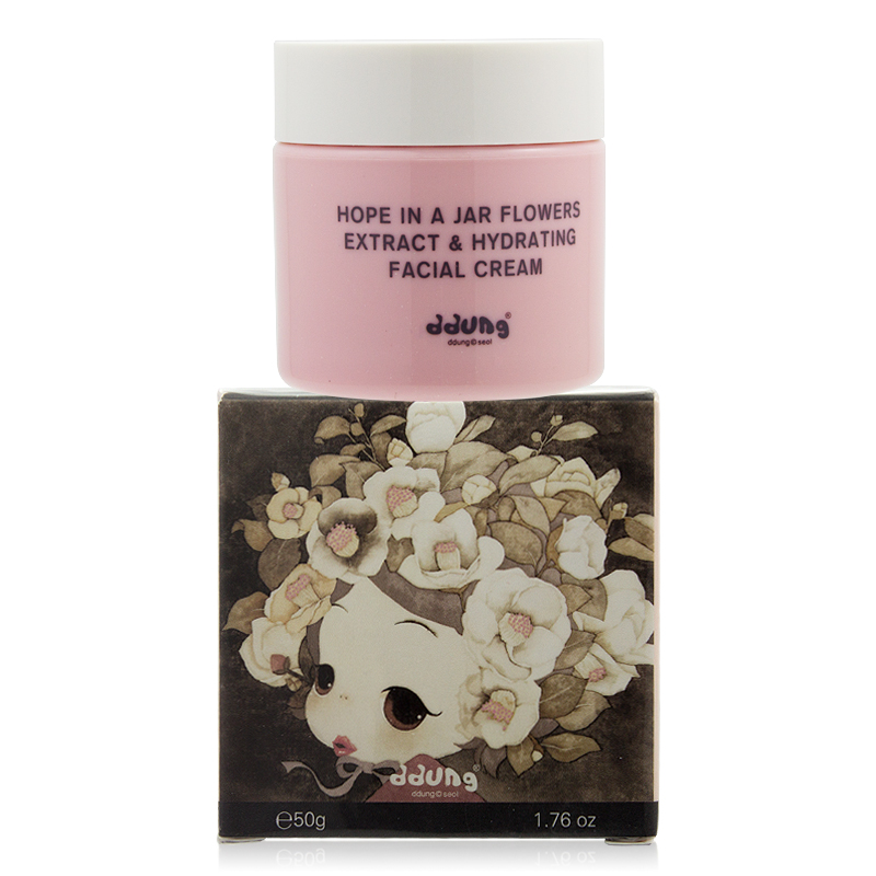 韩国原装进口少女护肤冬己一瓶希望花研霜保湿高中生大学生防过敏