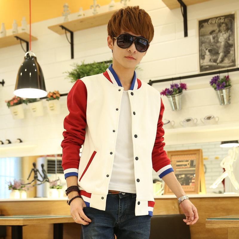 男士外套夏休闲男装修身夹克男青年薄款韩版潮流学生春秋季上衣服