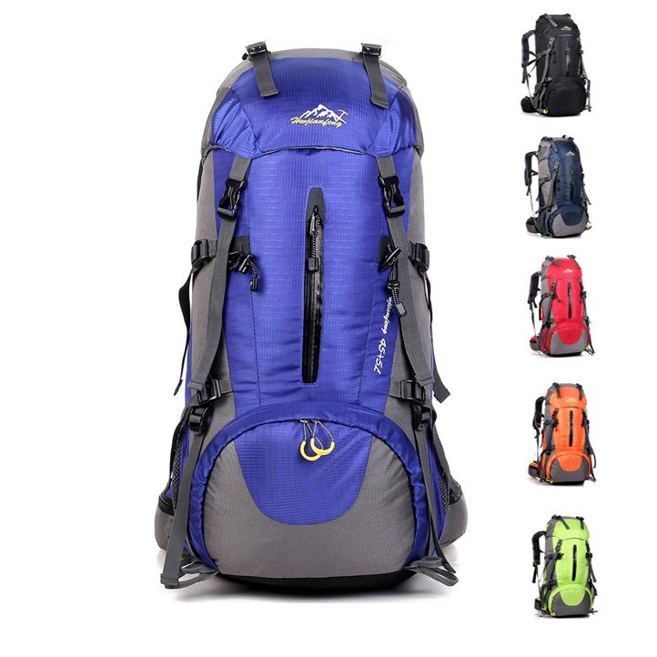 野营背包容量 户外运动旅行男女双肩登山