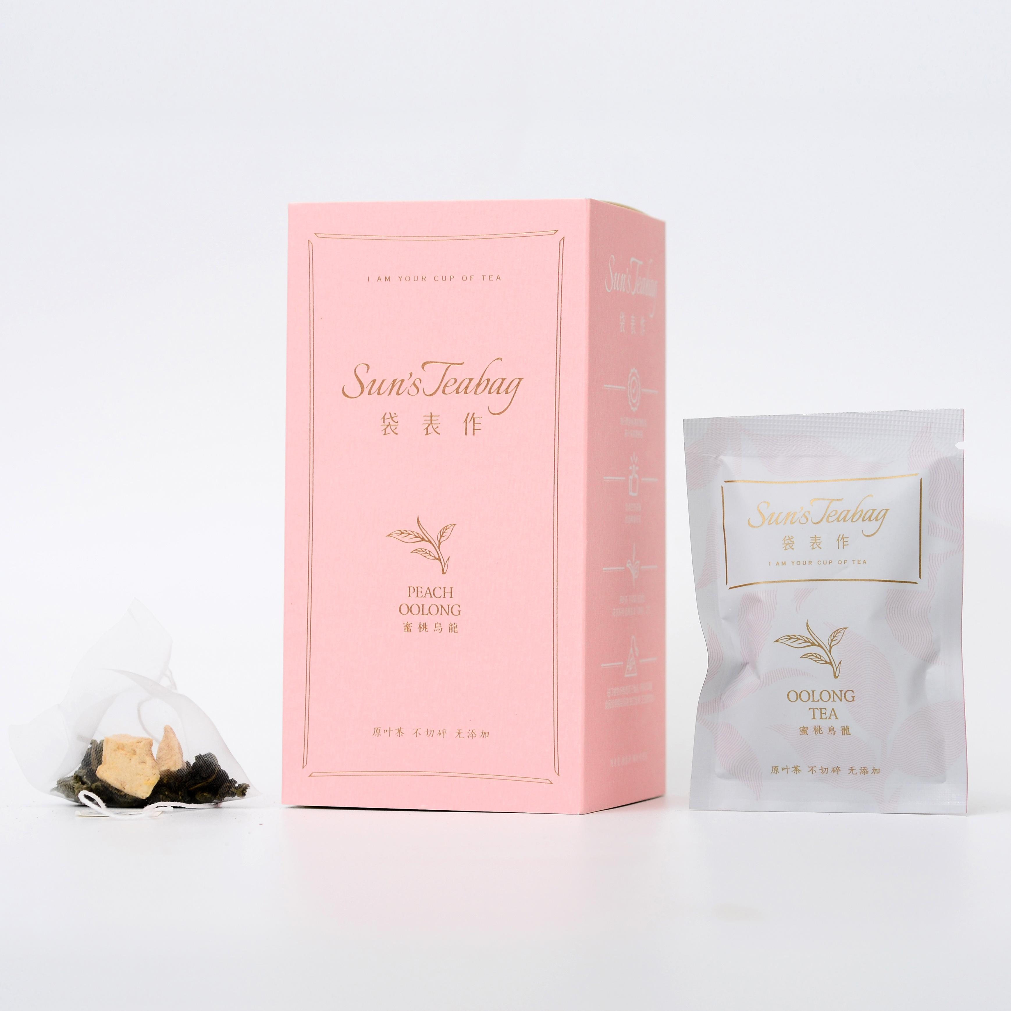 包装袋表作袋泡茶包邮10无香精天然水蜜桃混搭铁观音蜜桃乌龙