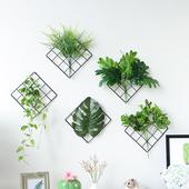 北欧风墙壁装饰客厅卧室墙面挂件绿色植物门上墙上ins家居装饰品