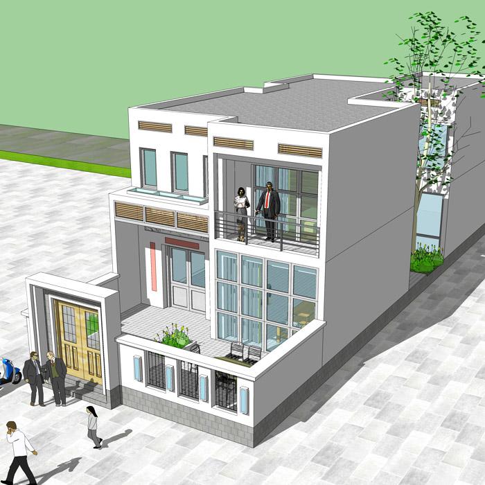 专业三层复欧式别墅设计图纸 新农村自建房屋全套效果施工图热销