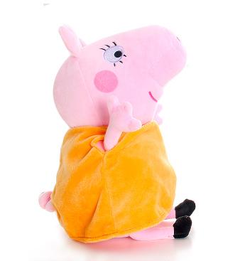 毛绒玩具四口爸妈小猪儿子一家玩偶儿童粉红女儿