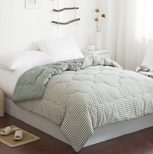 棉被天然水洗純棉春秋被日式簡約新疆棉花