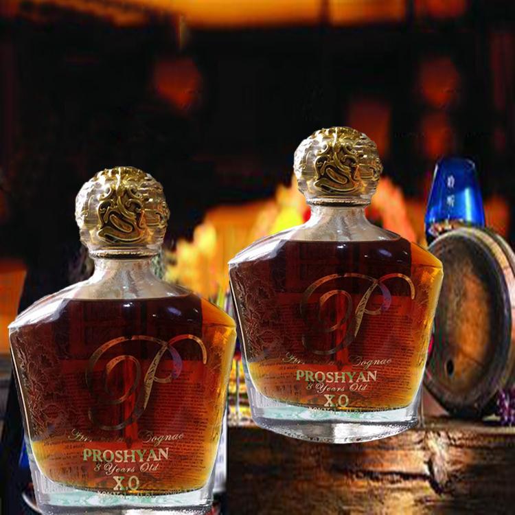 XO 威士忌 PROSHYAN 正品俄罗斯原瓶进口高档洋酒