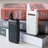 捷锋超薄迷你对讲机大功率无线酒店对讲机民用自驾游手台微型USB