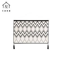 左咸敦道 原创设计律动北欧简约设计师现代挂毯壁毯挂画墙画挂布