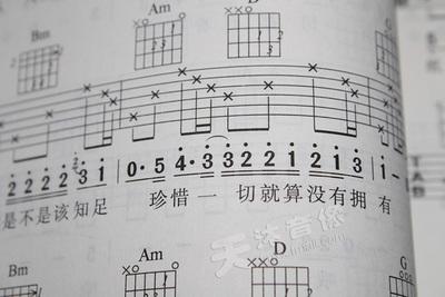 吉他书籍弹唱谱最易上手吉他弹唱乐谱173首吉他谱 初学流行歌曲谱图片