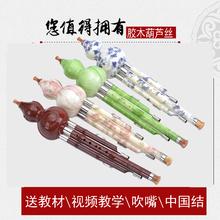 葫芦丝教型c调降b调胶木云南幽乐送教材 特价 包邮 乐器儿童成人初学