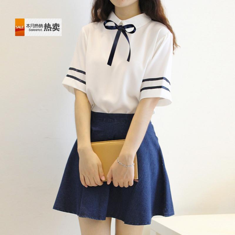 连衣裙学生装制服校服手服日韩英伦风水海军毕业班套装JK学院