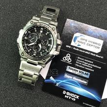 卡西欧太阳能光动能gps混合电波金属手表男士MTG-G1000D-1A/1A2