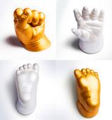 克隆粉 模型粉 手模脚模 立体手印泥 婴儿手脚印 手足印泥 宝宝