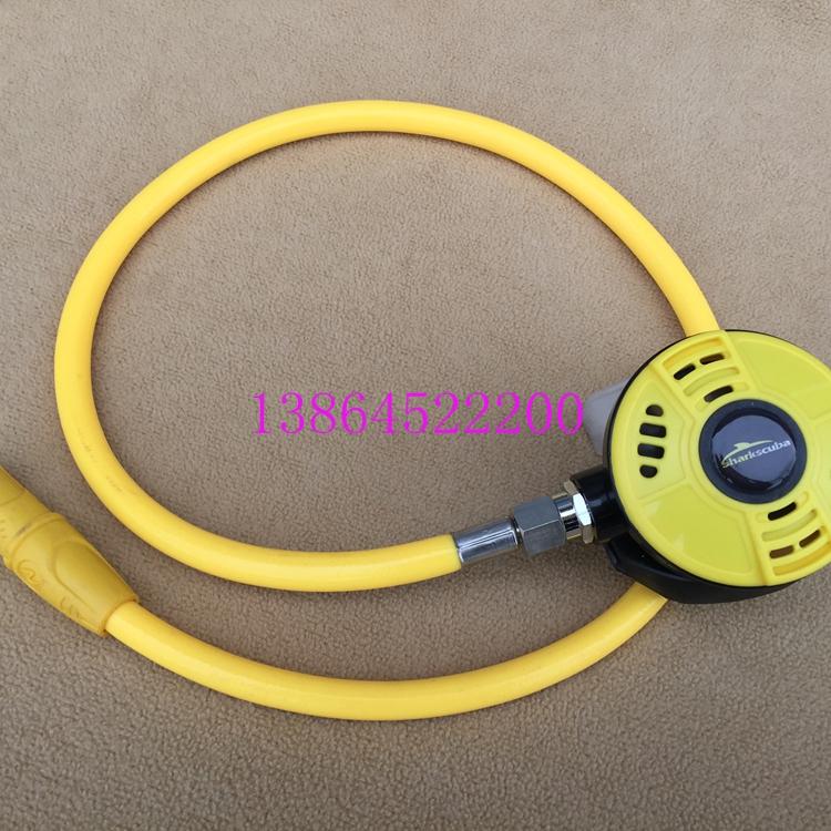 潜水呼吸器黄色备用潜水呼吸调节器水肺深潜呼吸调节器备用二级头