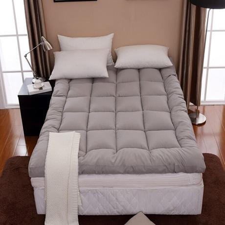 【天天特价】加厚10cm学生榻榻米床褥子酒店折叠软1.5m1.8米床垫