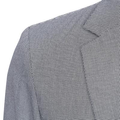 GXG[特惠]春装热卖 男士都市时尚修身休闲商务英伦格纹西装外套