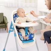 宝宝餐椅儿童餐椅多功能可折叠便携式婴儿坐椅加厚现代简约北欧式