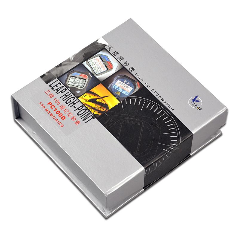 包邮秒表计时器 天福PC100D 三排100道 田径裁判比赛电子运动秒表