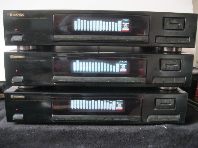 二手 原装正品先锋国内代工 先驱MC--960K15段 频谱显电调均衡器.