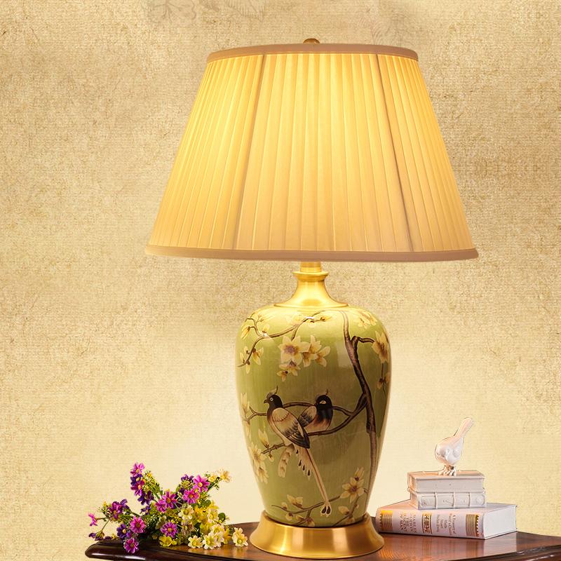 装饰铜台灯欧式