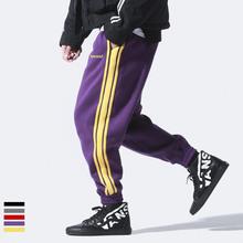 二十八间原创秋冬男装休闲裤束脚裤潮牌嘻哈加绒运动裤宽松男裤子