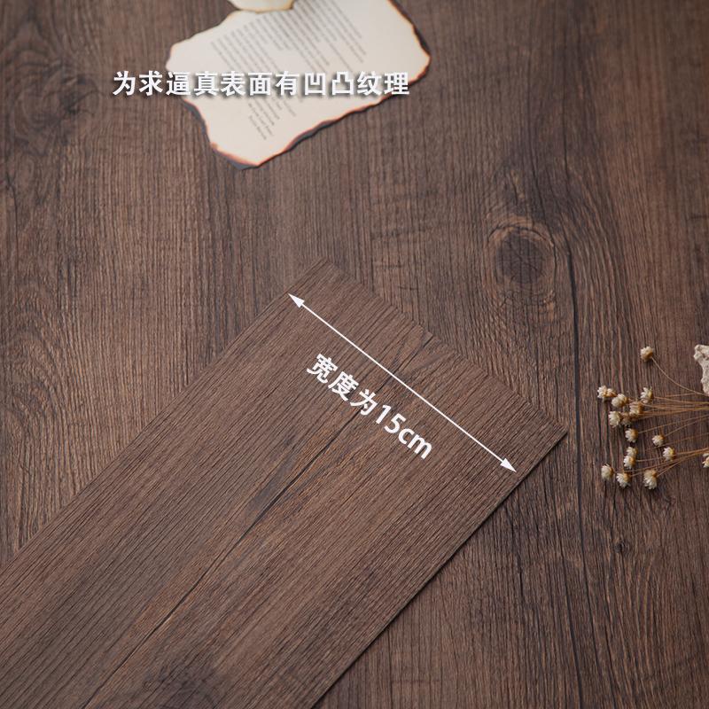 拍摄道具实木拍摄背景板木板复古仿真塑料板
