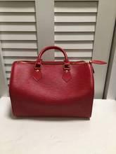 日本直邮中古二手正品女包LV路易威登红色水波纹SPEEDY30 M5922E