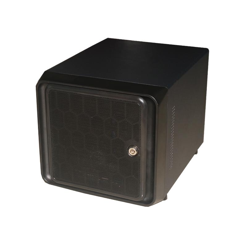 4盘位NAS机箱 黑群晖机箱 网络存储机箱 家庭存储机箱 ITX机箱