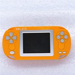 促销包邮可充电2.4寸彩屏游戏机魂斗罗变形金268经典儿童掌机