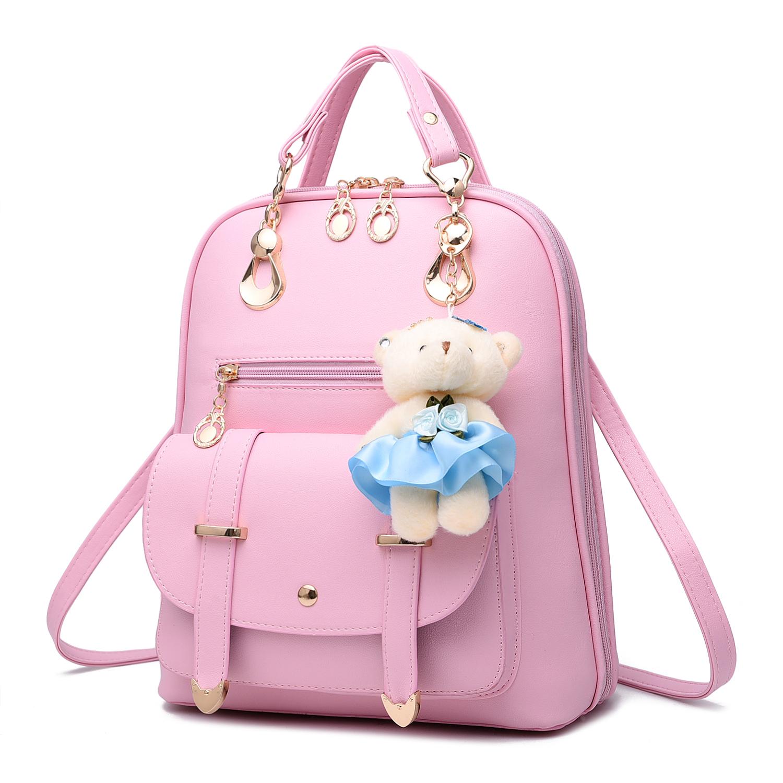 夏季女式皮包包大学生书包背包韩版女包校园百搭韩国