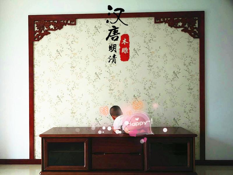 东阳木雕中式实木线条 背景墙边框 垭口门框雕花线条角花装饰现货