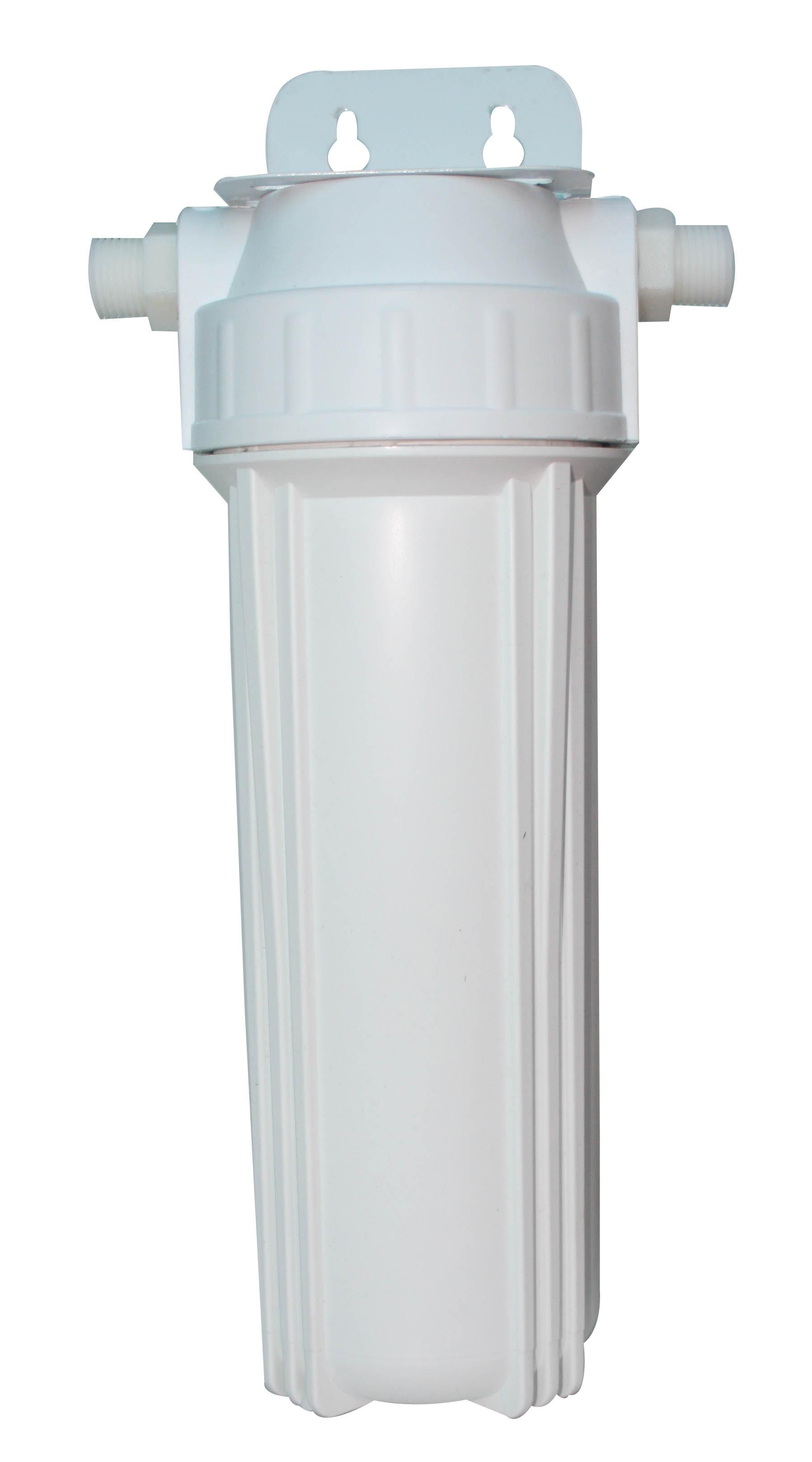 单级前置净水过滤器滤水滤瓶家用全屋透明10寸大流量管道24分接头