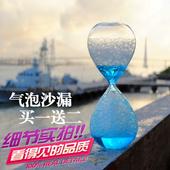 饰品生日儿童礼物水滴 气泡泡沫沙漏计时器创意摆件液体油滴家居装
