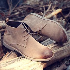 男鞋春季潮鞋2017新款马丁靴男士靴子沙漠靴雪地短靴韩版潮流棉鞋