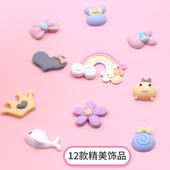 宝宝手足印泥手足印手脚印手印纪念品婴儿新生儿磨砂相框手模饰品